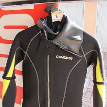 Cressi  CASTORO 5 MM MONOPEZZO + JACKET 3MM MAN